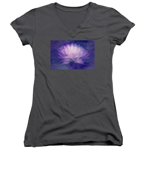 Obscured  Women's V-Neck T-Shirt