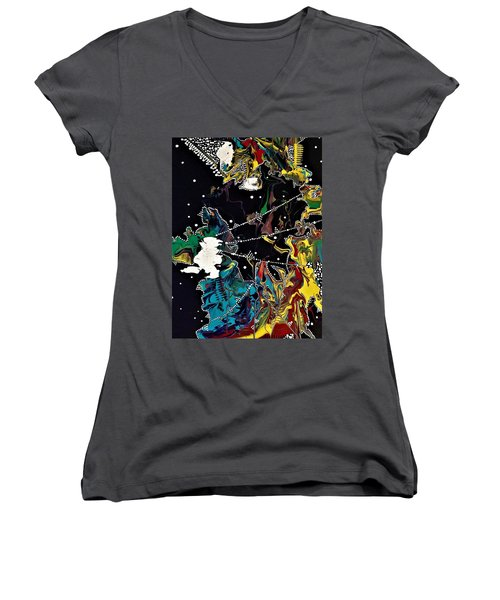 Obscurity Has A Great Many Elbows Women's V-Neck (Athletic Fit)