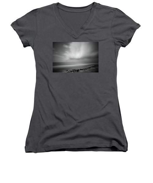 Ocean And Clouds Women's V-Neck