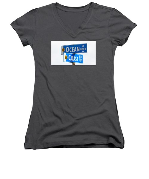 Ocean And Coast Women's V-Neck (Athletic Fit)
