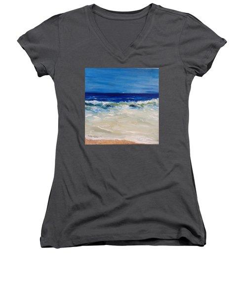 Ocean Roar Women's V-Neck T-Shirt