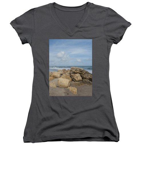 Ocean Scene Women's V-Neck