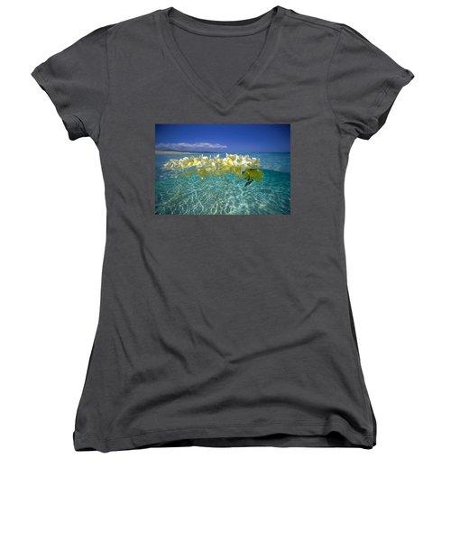 Ocean Surface Women's V-Neck T-Shirt