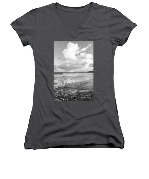 Ocean Texture Study Women's V-Neck T-Shirt
