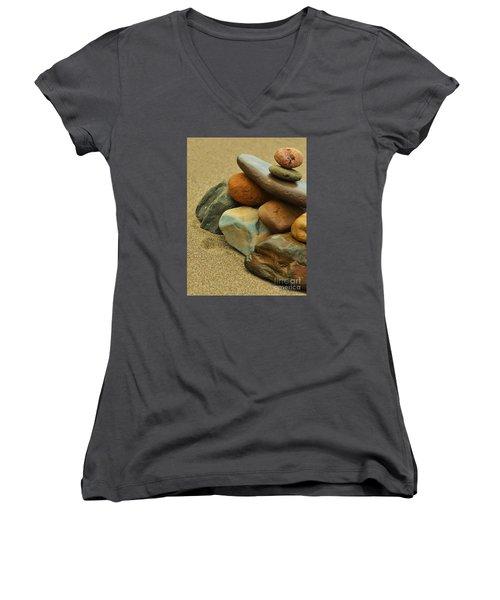 Ocean's Art Women's V-Neck T-Shirt