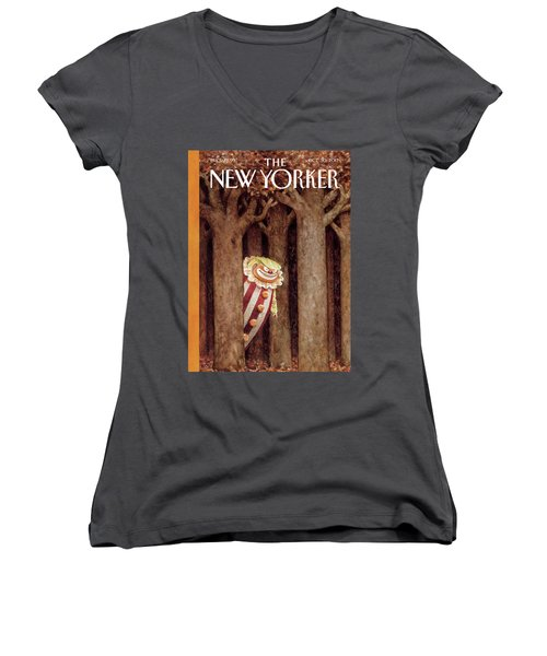 October Surprise Women's V-Neck