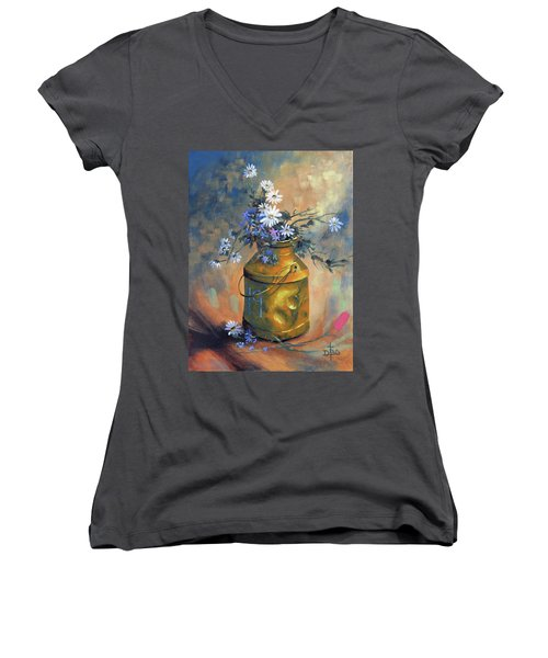 Ode To Eddie Women's V-Neck
