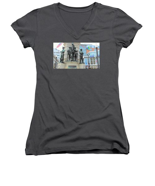 Of Soldiers And Sailors Women's V-Neck (Athletic Fit)