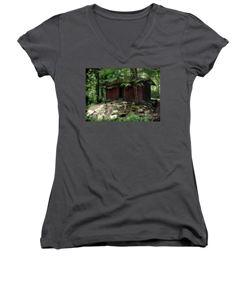 Off The Grid Women's V-Neck (Athletic Fit)