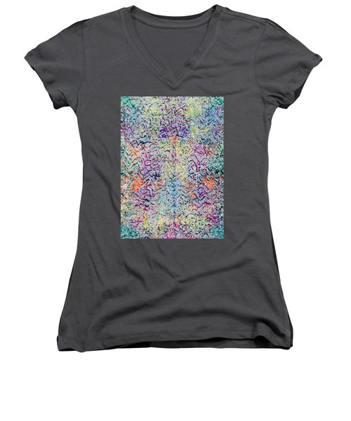 22-offspring While I Was On The Path To Perfection 22 Women's V-Neck (Athletic Fit)