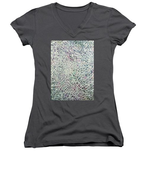 28-offspring While I Was On The Path To Perfection 28 Women's V-Neck (Athletic Fit)