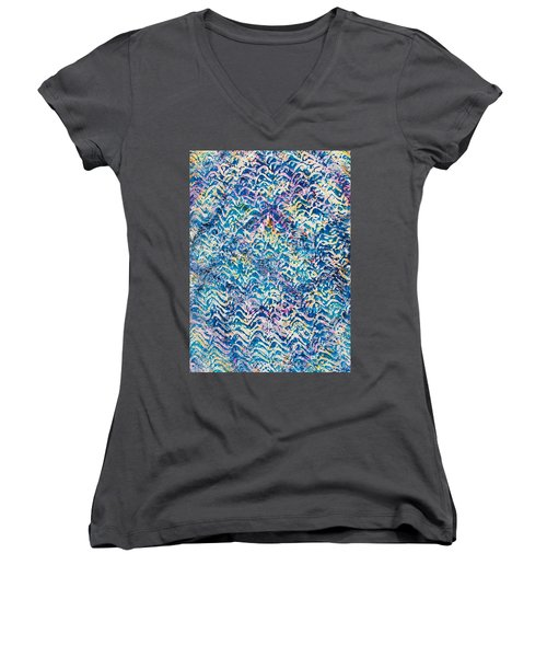 32-offspring While I Was On The Path To Perfection 32 Women's V-Neck