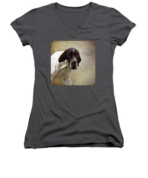 Oh The Eyes Women's V-Neck T-Shirt