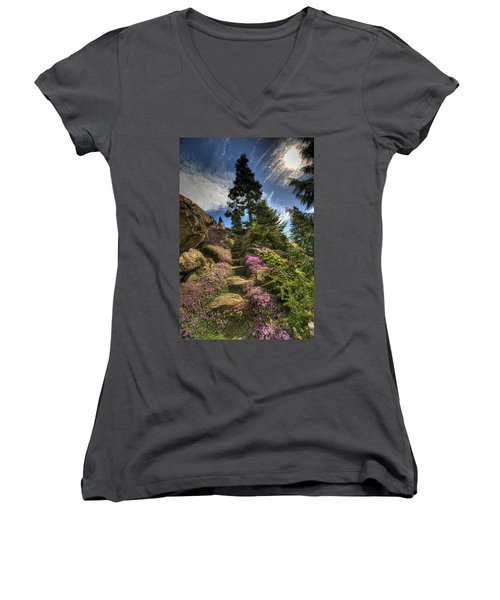Ohme Gardens Women's V-Neck T-Shirt
