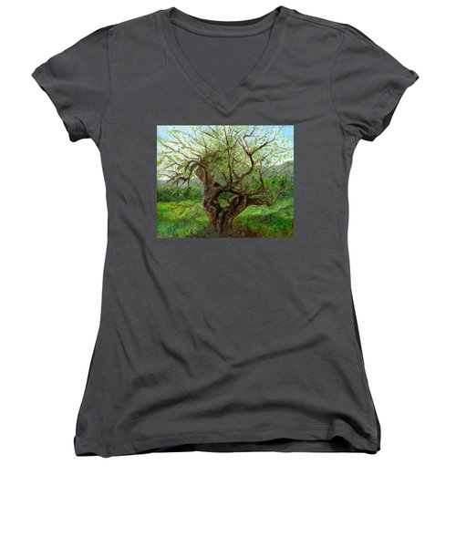 Old Apple Tree Women's V-Neck
