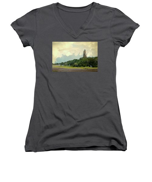 Old Baldy Women's V-Neck (Athletic Fit)