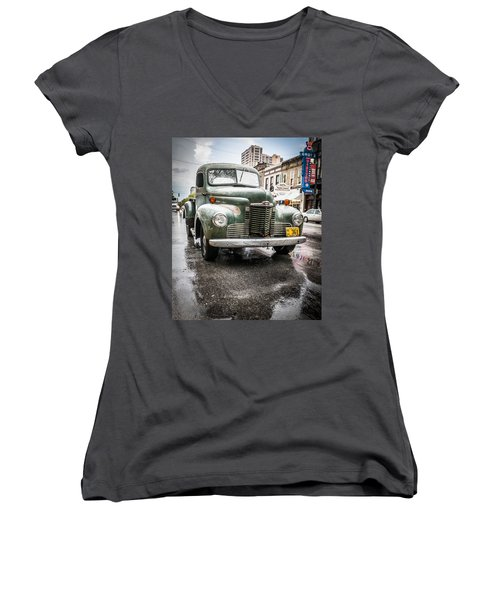 Old But Rolling Women's V-Neck