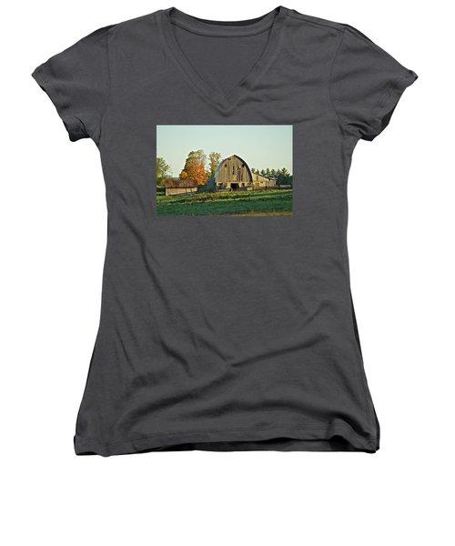 Old Country Barn_9302 Women's V-Neck T-Shirt