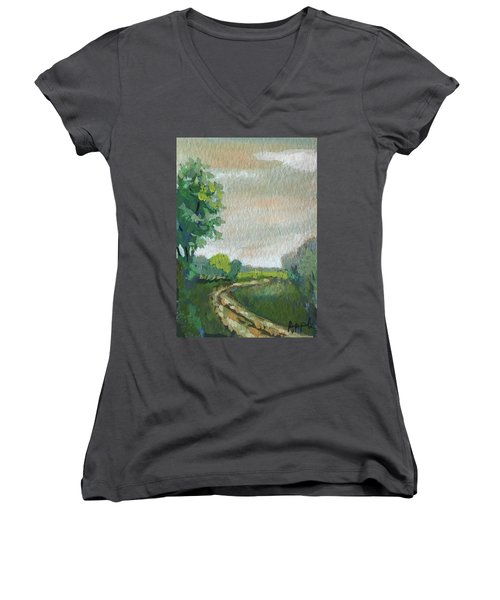 Old Country Road Women's V-Neck