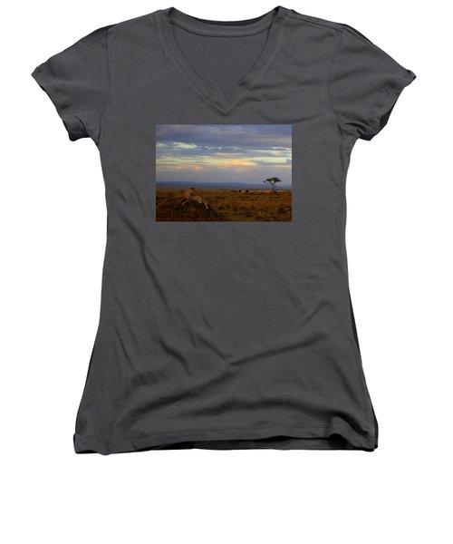 Old Earth Women's V-Neck T-Shirt