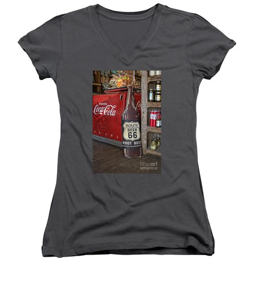 Old General Store Women's V-Neck (Athletic Fit)