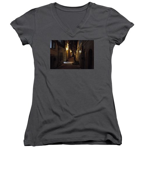 Old Jerusalem Women's V-Neck T-Shirt