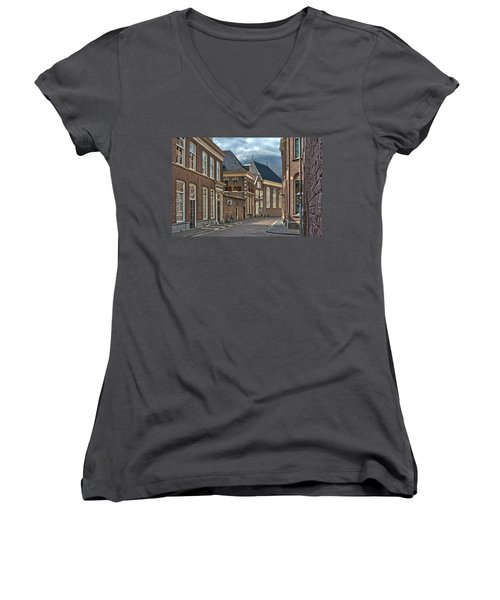 Old Meets New In Zwolle Women's V-Neck