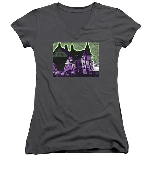 Old Meets New Women's V-Neck T-Shirt
