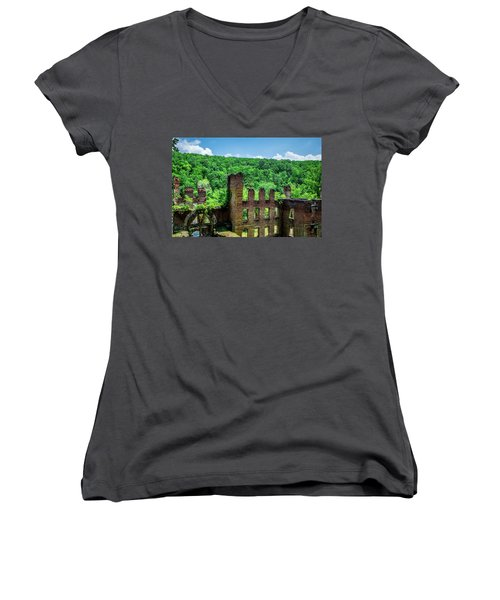 Old Mill Women's V-Neck