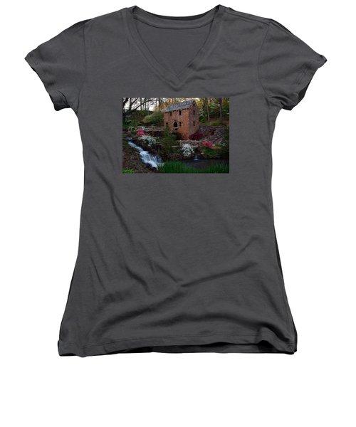 Old Mill Women's V-Neck T-Shirt
