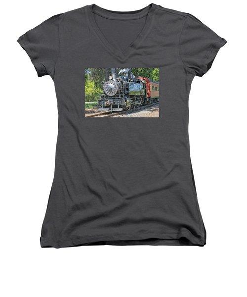 Old Number 10 Women's V-Neck T-Shirt