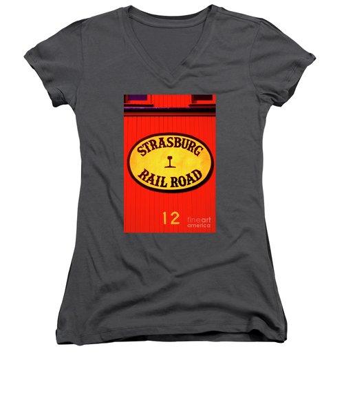 Old Number 12 Women's V-Neck