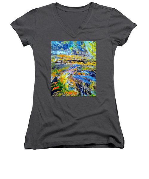Old Town Of Nice 1 Of 3 Women's V-Neck