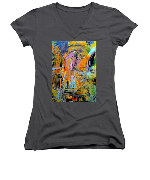 Old Town Of Nice 2 Of 3 Women's V-Neck