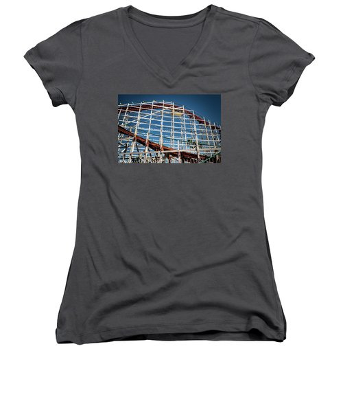 Old Woody Coaster Women's V-Neck