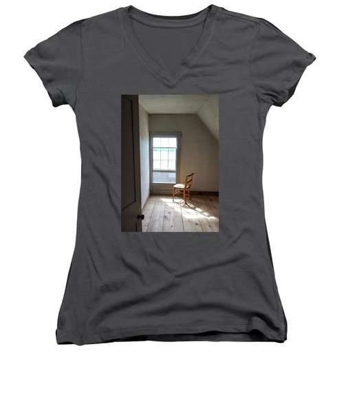 Olson House Chair And Window Women's V-Neck