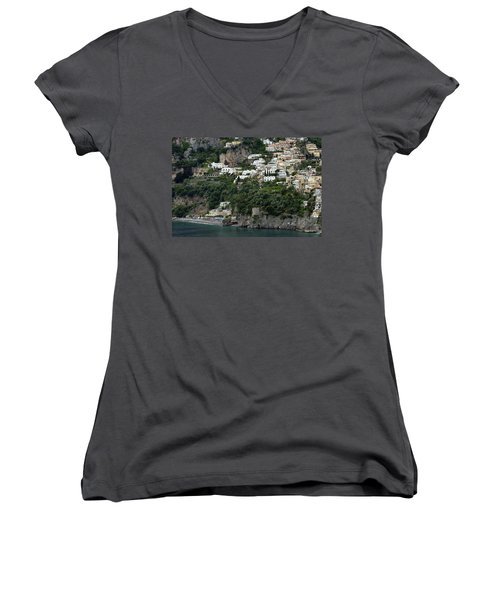 On The Coastal Road Women's V-Neck T-Shirt