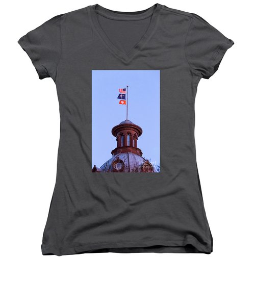 On The Dome-5 Women's V-Neck