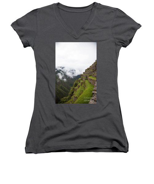 On The Edge Women's V-Neck (Athletic Fit)