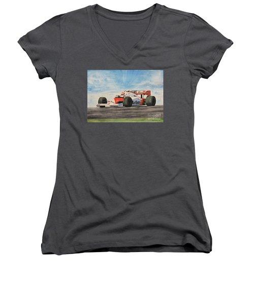 On The Top Women's V-Neck T-Shirt
