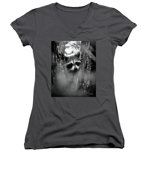 On Watch - Bw Women's V-Neck
