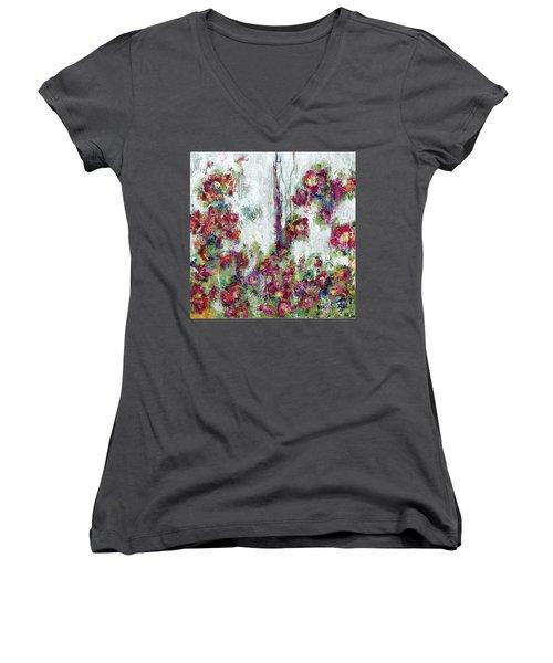 One Last Kiss Women's V-Neck T-Shirt