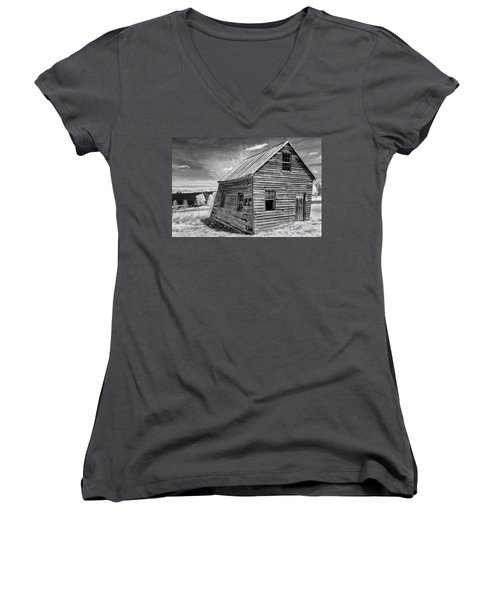 One Room Schoolhouse Women's V-Neck T-Shirt
