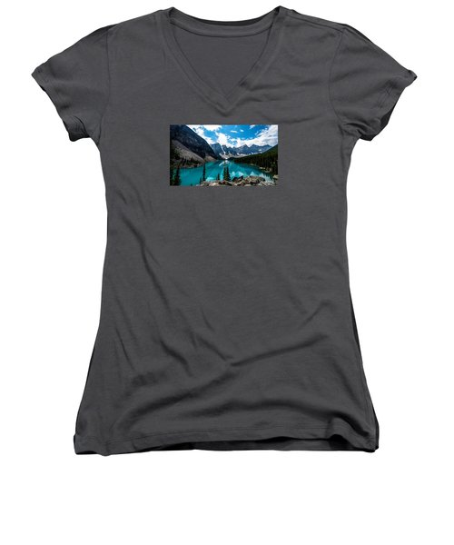 One Shot Women's V-Neck T-Shirt