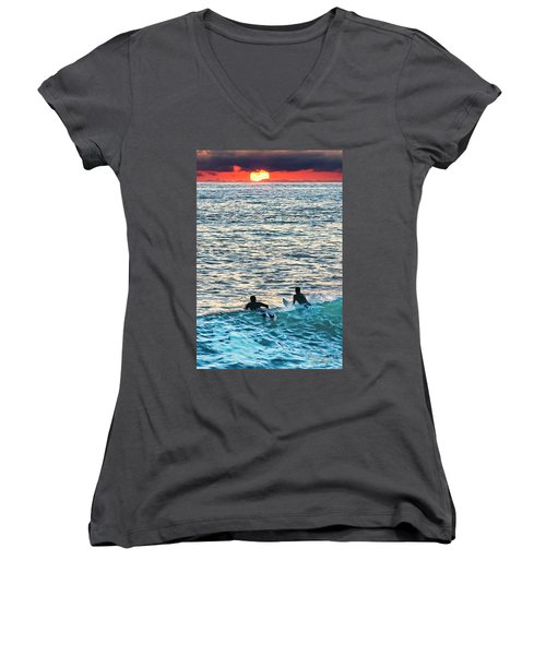 One With The Sun Women's V-Neck