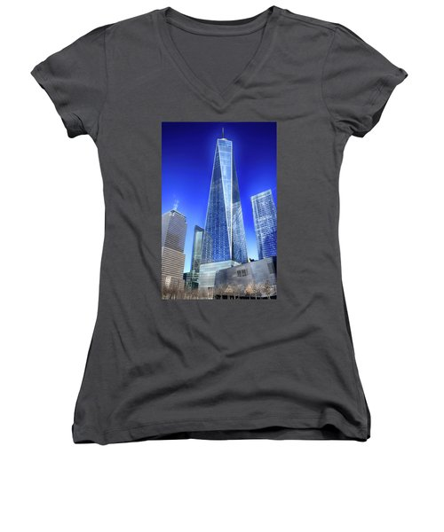Standing Tall Women's V-Neck (Athletic Fit)