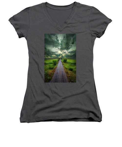 Onward Women's V-Neck T-Shirt