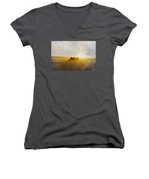 Open Spaces Women's V-Neck