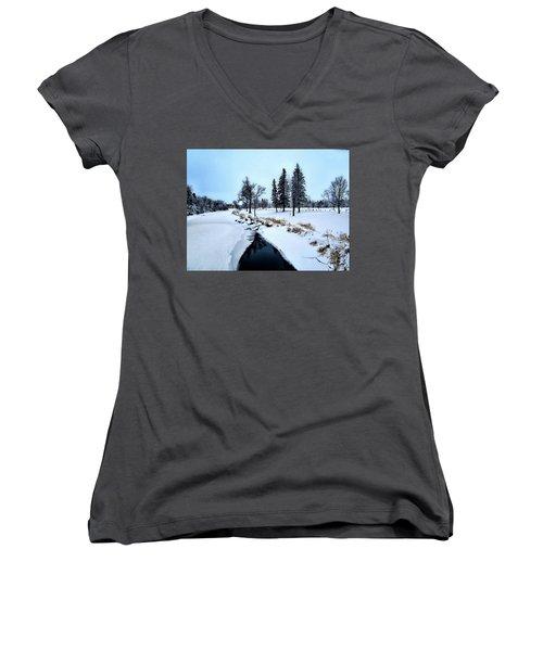 Open Waters Women's V-Neck T-Shirt