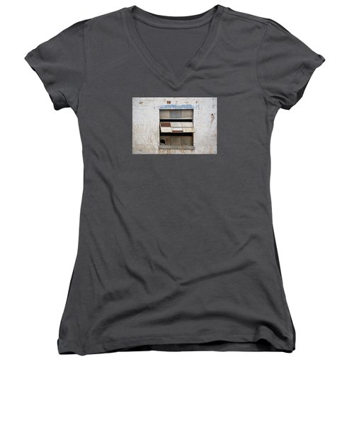 Opened Window Women's V-Neck T-Shirt